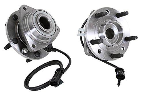 Callahan 513124X2 [2] Pair FRONT Premium Grade [ 5 Lug 4WD AWD ABS ] Wheel Hub Bearing Assemblies [ 513124 ]