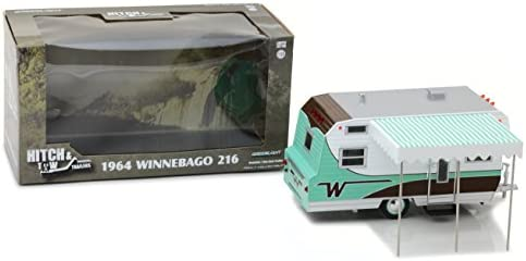 1/24 Hitch & Tow Trailers 3 - 1964 Winnebago Travel Trailer 216(レアカラー Ver.)