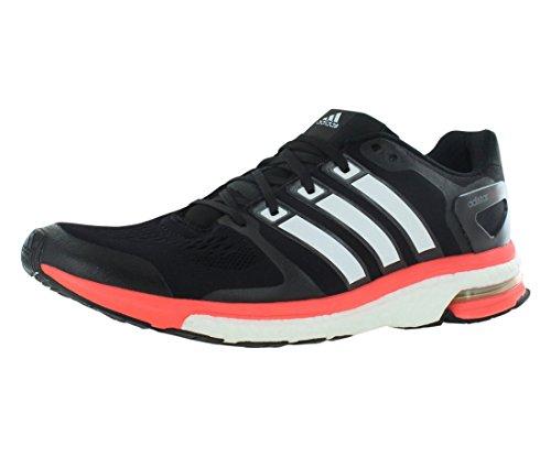 adidas Men's M18849 Adistar Boost ESM Shoes, Black/White, 9