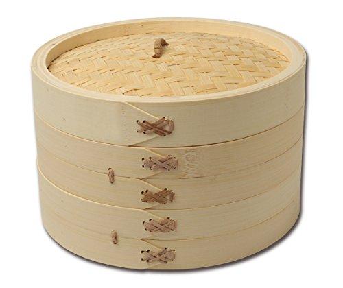 Joyce Chen 26-0013, Bamboo Steamer Set, 10-inch by Joyce Chen (Image #1)
