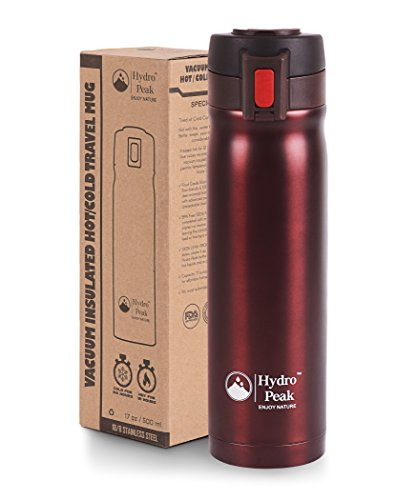 17oz Coffee Thermos, Stainless Steel Travel Mug, Double W...