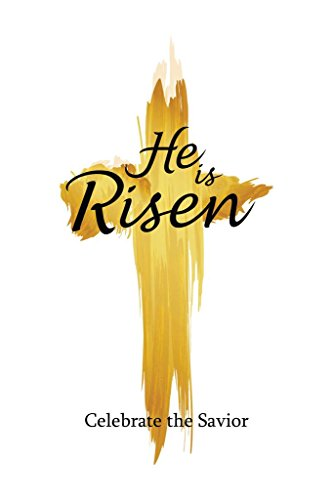 Holy Cross He is Risen Celebrate The Savior Art Print Mural Giant Poster 36x54 inch