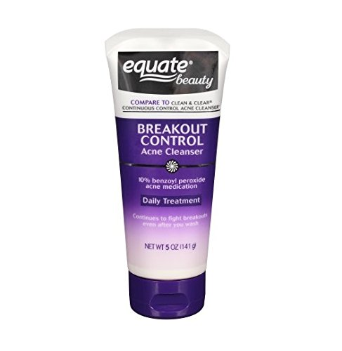 Equate Breakout Control Acne Cleanser 5oz Compare To Clean Clear