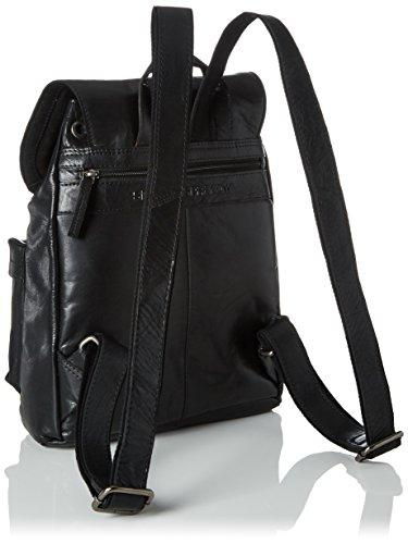 Spikes & Sparrow Backpack - Mochilas Unisex adulto Negro (Black)