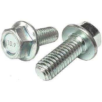 Small Head Hex Bolt 10.9 Zinc 5 M6-1.0 x 25 or M6x25 6mm x 25mm J.I.S