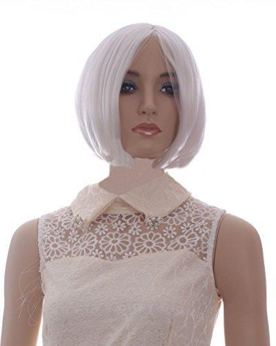 cool2day Mujer corta recta Cosplay partido peluca (Modelo ...