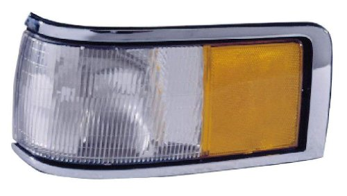 Depo 331-1543R-US Lincoln Town Car Passenger Side Replacement Side Marker Lamp Unit without Bulb (Side Marker Town Lamp Car)