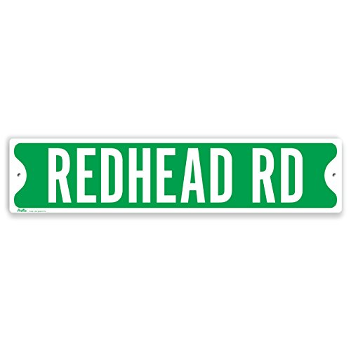 petka-signs-and-graphics-pkss-0094-na-18x4-redhead-rd-aluminum-sign-18-x-4-white-on-green