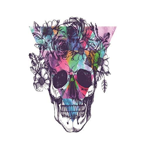 Diamond Painting Halloween,Hongxin Needlework 5d DIY Diamond Painting Cross Stitch Skull,Halloween Gift,Skeleton Diamond Embroidery Full Square Diamond Mosaic Art (A)