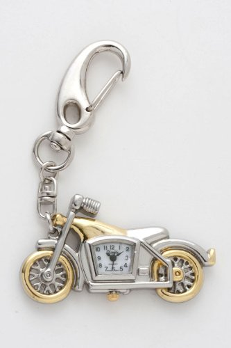 Trendy Fashion MOTORCYCLE KEYCHAIN WATCH By Fashion Destination