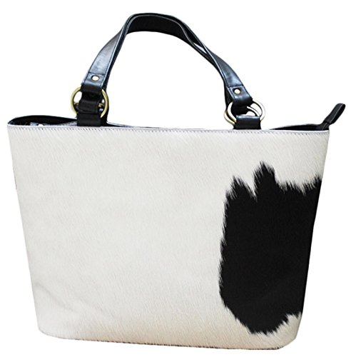 11sunshop BAG-CHELSIE - Bolso de asas para mujer Blanco blanco M