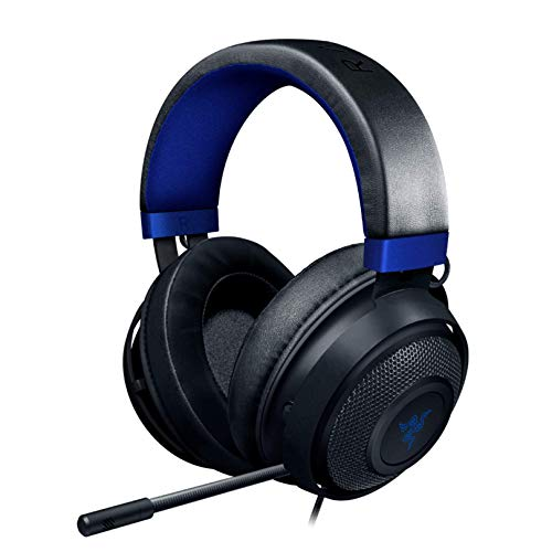Razer Kraken Gaming Headset: Lightweight Aluminum Frame - Retractable Cardioid Mic - For PC, PS4,...