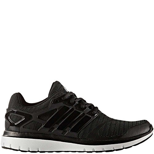 adidas Women's Energy Cloud V Running Shoe, Black/Black/Dark Grey Heather, 9.5 M US by adidas
