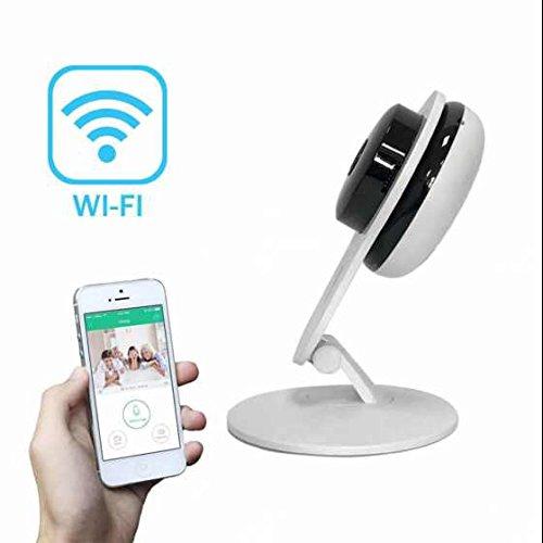 Baby Monitoring ip kamera Alarmanlagen E-Mail Benachrichtigung Innenbereich ,PIR Wärmesensor,Wlan ip kamera Alarmanlagen mit bewegungsmelder und speicher,für Baby/Haustier/für iPhone,Android