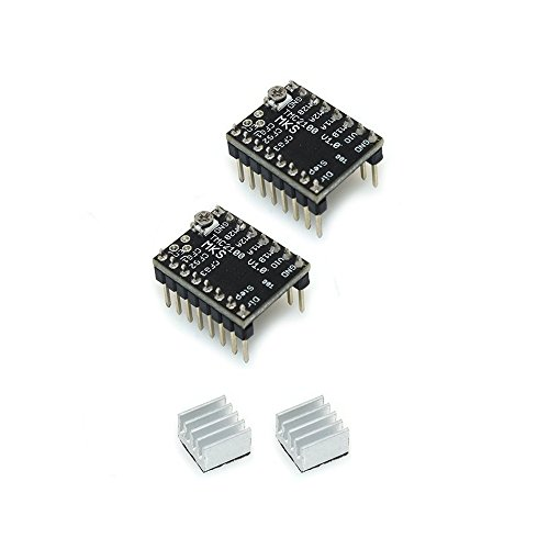 2Pcs MKS TMC2100 Stepper Motor Drive Board With Heatsink Ultra-quiet For Arduino Reprap Ramps1.4 3D Printer (2)