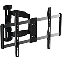 Stanley TV Wall Mount - Full Motion Articulating Mount for Large Flat Panel Television (TLX-105FM)