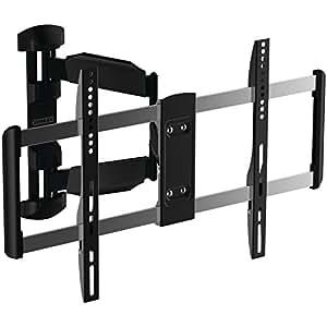 stanley tv wall mount full motion articulating mount for large flat panel. Black Bedroom Furniture Sets. Home Design Ideas