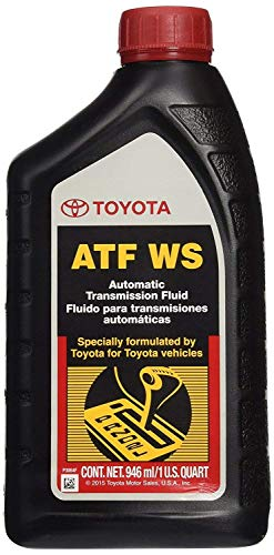 Toyota 4runner Automatic Transmission - Toyota 6 Pack 00289-ATFWS Automatic Transmission Fluid, 192 Ounces, 6 Pack, 192 Ounces, 6 Pack