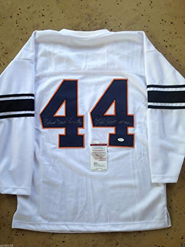- Floyd Little #44 Autographed Signed Memorabilia Syracuse University Retro With Inscription - JSA Authentic