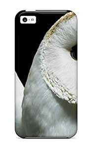 Pretty FghFaLU13406aEahv Iphone 5c Case Cover/ Owl Closeup Series High Quality Case
