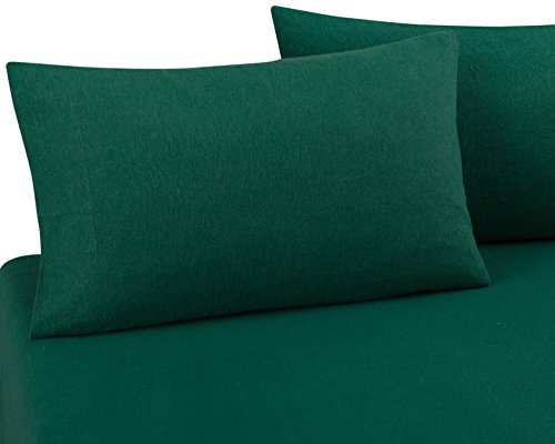 FLANNEL PILLOWCASES by DELANNA, 100% Cotton, Brushed on both sides for added comfort Standard Size 20