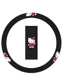 Plasticolor 006618R01 'Hello Kitty' Steering Wheel Cover