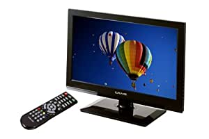 Craig 19.0-Inch 720p 120Hz HD Color LED TV, Black (CLC504E)