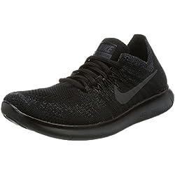 Nike FREE RN FLYKNIT 2017 womens running-shoes 880844-010_6.5 - Black