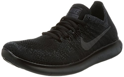 Nike FREE RN FLYKNIT 2017 womens running-shoes 880844-010_6.5 - Black Nike Women Casual Shoes