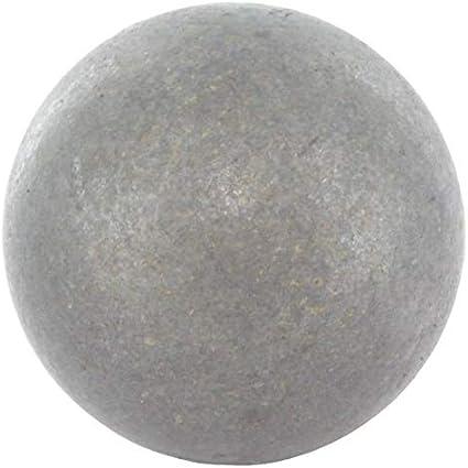 10pieza Diámetro 40mm hierro forjado bola bola de acero de acero