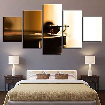 Zhuhuimin HD Imprime Arte Mural Lienzo decoración del hogar 5 ...