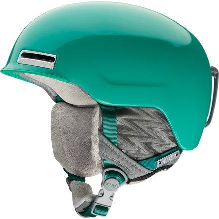 Smith Optics Allure Women's Ski Snowmobile Helmet , Jade Omega , - Sunglasses Smith Jaden