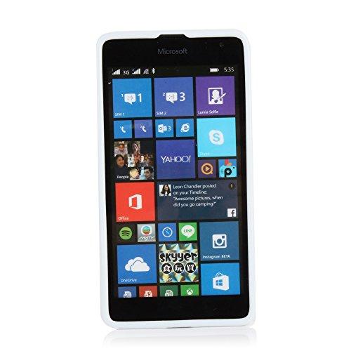Kit Me Out US IMD TPU Gel Case for Microsoft Lumia 535 / Lumia 535 Dual Sim - Multicoloured Vintage / Retro Camera
