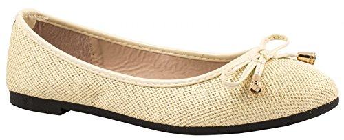 Elara - Zapatillas Mujer Beige