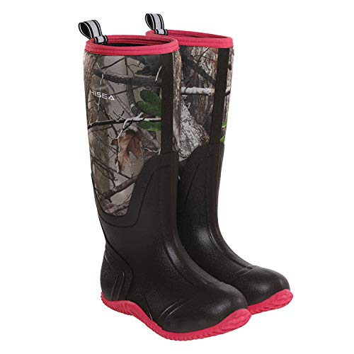 Hisea Rubber Women's Hunting Boots Waterproof Insulated...