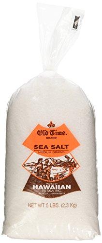 Hawaiian Sea Salt From the Hawaiian Islands - 5lb Bag by Old Time Brand