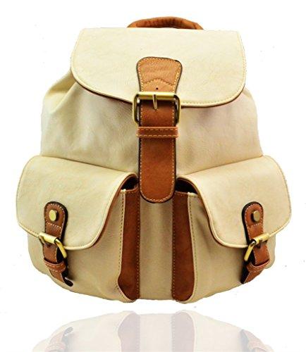 FASHIONS Multi zainetto donna RS Borsa M Brown Beige Colour a 6qfOn1Aw