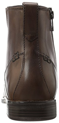 Traviss Boot Zip Chelsea Dark Men's Brown Boot Rockport Sw5XnzWqn