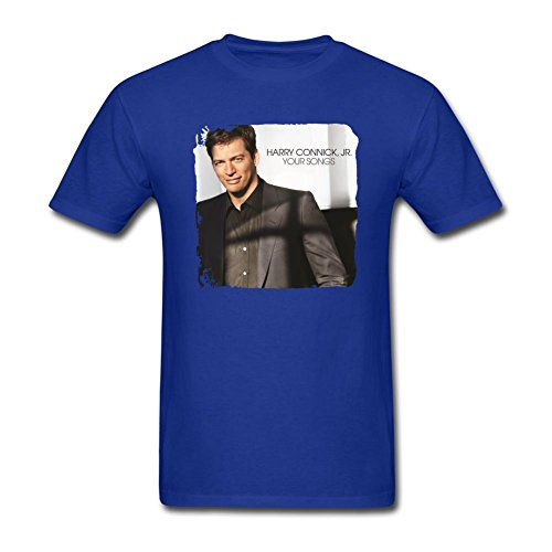 samjosy-mens-harry-connick-jr-your-songs-t-shirt-size-s-royal-blue