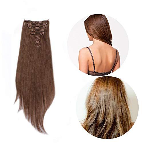 Wig Fashionista - 100 Natural Real Human Hair Clip