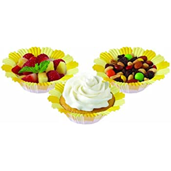 Wilton 415-0177 Blossoms Baking Cup, Yellow