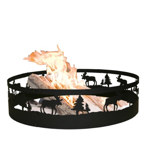 CobraCo Moose Campfire Ring - Fireplace Outdoor Cobraco
