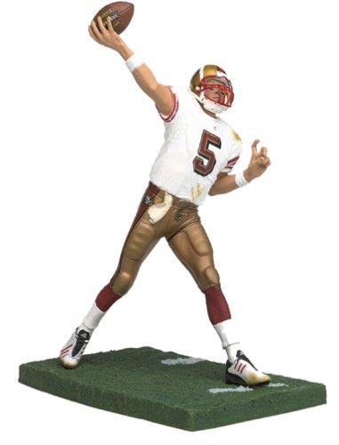 McFarlane Toys NFL Sports Picks Series 5 Action Figure Jeff Garcia (San Francisco 49ers) White Jersey