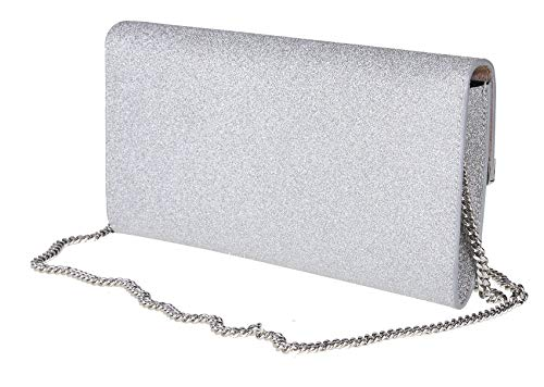 Choo Donna Argento Pelle Emmieigt Jimmy Pochette AS1PA7
