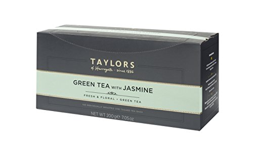 Taylors of Harrogate Green Tea with Jasmine, 100 Teabags (Best Green Tea For Weight Loss Uk)