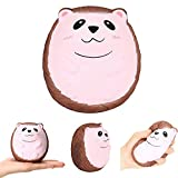 LtrottedJ Cute Hedgehog Scented Charm Slow Rising Squeeze Stress Reliever Toy