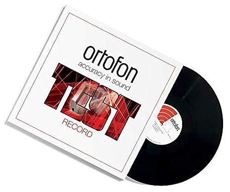 Ortofon Test Record: Amazon.es: Instrumentos musicales