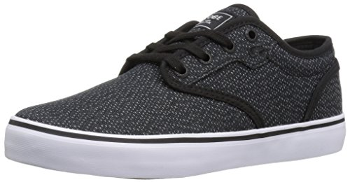 Globe Mens Motley Skate Shoe Black Woven/White