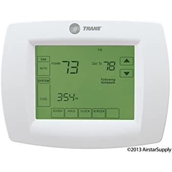 trane thermostat z wave works with alexa amazon com rh amazon com Trane Thermostat BAYSENS019B User Manual Trane Air Conditioners Thermostat Manual