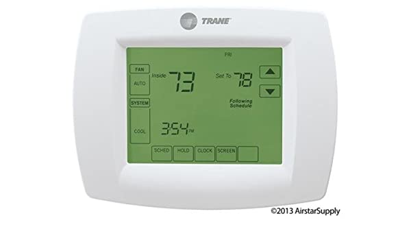 Trane Multi-Stage Thermostat 7-Day Programmable Touchscreen Thermostat, TCONT802AS32DAA / TH8320U1040 / THT02478 by Trane: Amazon.es: Bricolaje y ...